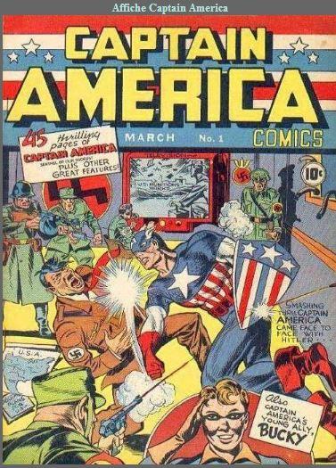 Anglais :Captain America-