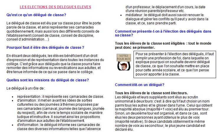 Collège J.Bédier explications delegues1
